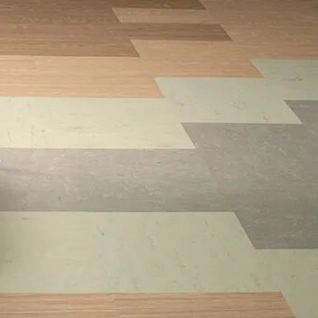 Marmoleum Modular Textura / Shade te5217 te5235 t3717 t3718
