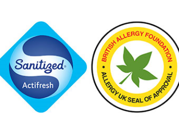 Flotex Sanitized und Allergy UK
