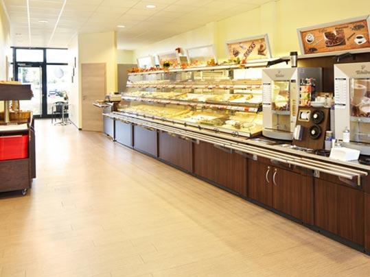 Allura Deisgnbeläge für Foodbereiche - Back König Köln DE