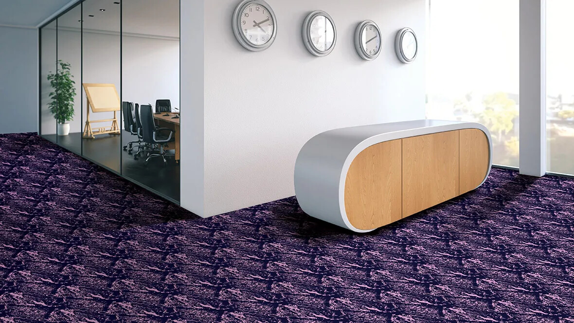 Flotex flocked flooring - Office - Tibor Reich