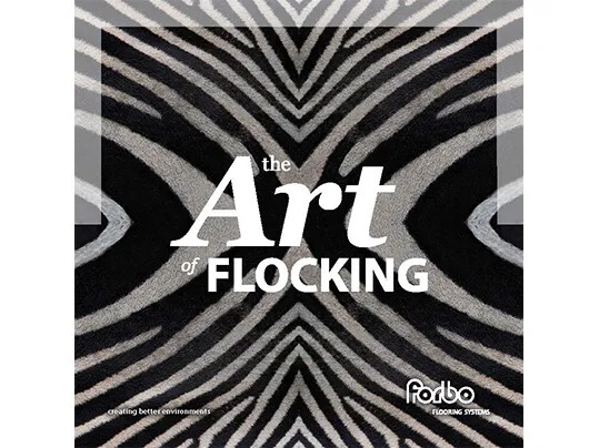 Flotex flocked flooring - The Art of Flocking