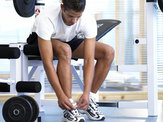 Marmoleum Sport Elastic in Fitnessbereichen