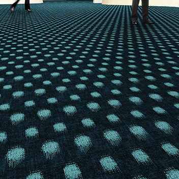 Flotex Sottsass flocked flooring - Kasuri