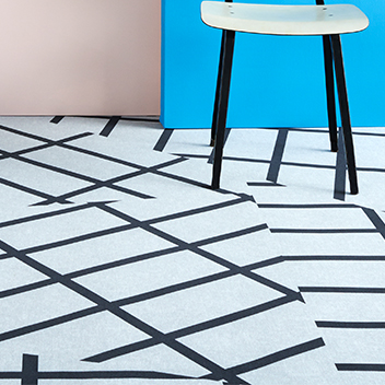 Flotex HemingwayDesign flocked flooring