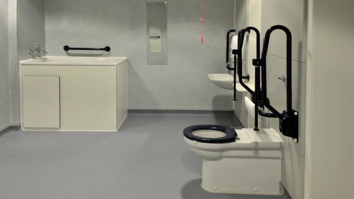 Salle de bain hôpital