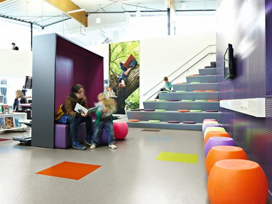 Colorex Colour von Forbo für Kindergärten
