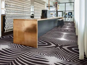 Flotex flocked flooring - Zebra - Leisure & Hospitality
