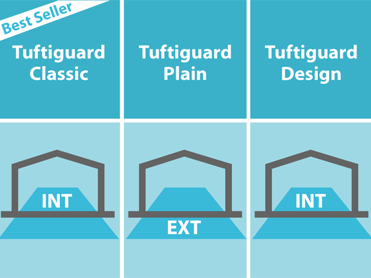 Nuway Tuftiguard can be used for internal and external entrances