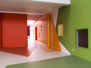 Nursary - Education flooring marmoleum