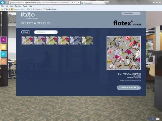 Flotex Vision Dijital Galeri