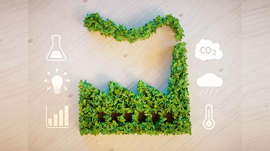 klimafreundliche Unternehmen