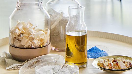 Linoleum Rohstoffe