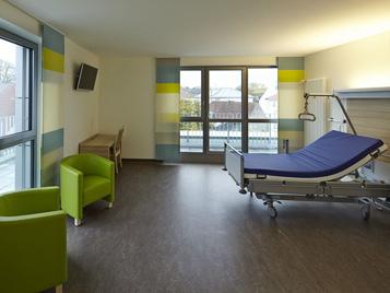 Forbo Bodenbeläge für Krankenhaus-Stationen