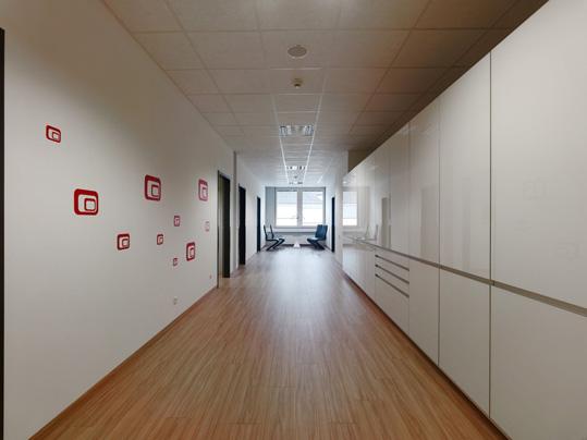 Eternal von Forbo für Krankenhausstationen