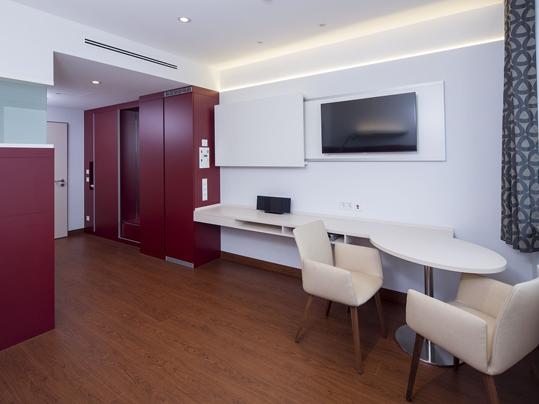 Forbo Allura Designbeläge für Krankenhausstationen