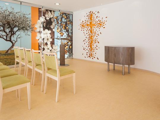 Forbo Linoleum für Gemeinschaftsräume in Altenpflegeeinrichtungen