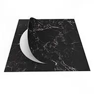 63544DR7 black marble circle