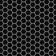2322909 Tomette noir et blanc